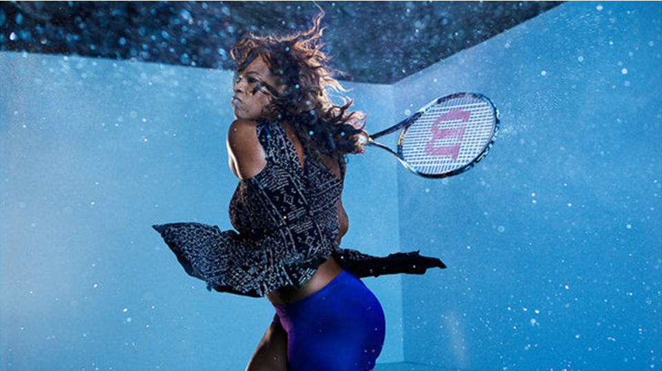Infinite Night Sky - For Serena Williams