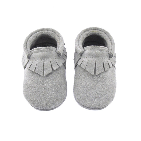 Manhattan-Little Lambo vegetable tanned baby moccasins