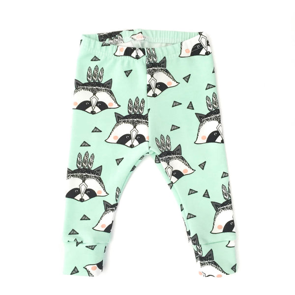 Racoon-Little Lambo clothing leggings rompers