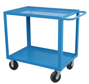 CART UTILITY Service Cart Extra Heavy Duty Two Shelf 24X36 CANWAY - Hansler.com