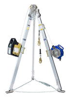 FALL ARREST CONFINED SPACE Advanced™ Tripod, Salalift™ II Winch and Sealed-Blok™ 3-Way SRL 3M DBI SALA - Hansler.com