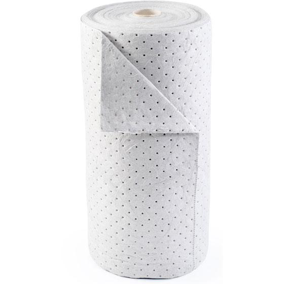 Absorbent Roll - Brady Basic White Oil-Only* - Hansler.com