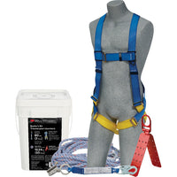 FALL ARREST CONSTRUCTION ROOFER'S KIT 3M DBI SALA - Hansler.com