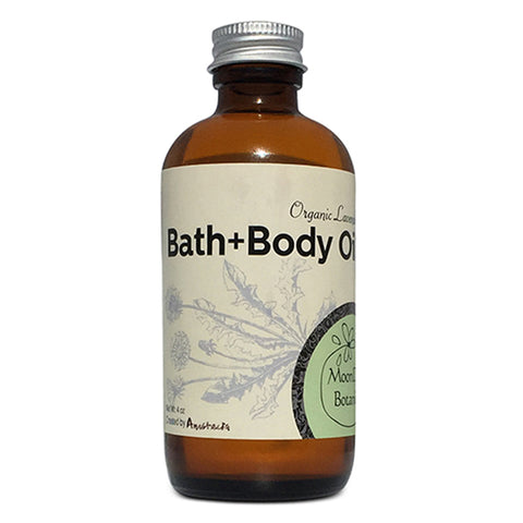 Organic Lavender Bath and Body Oil