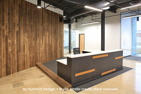 Yaki Sugi Feature Wall