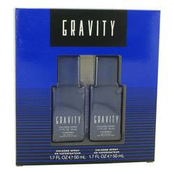 Gravity Gift Set By Coty - Two 1.7 oz Cologne Sprays - Coty