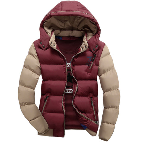 Warm Winter Hooded Jacket -  - Houzz of Threadz - 1