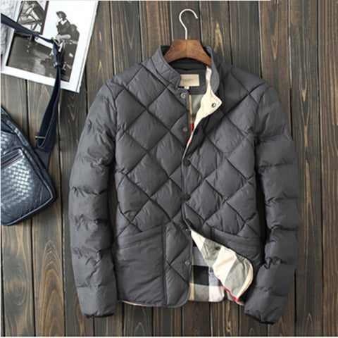 Warm Padded Men's Winter Jacket -  - Houzz of Threadz - 1