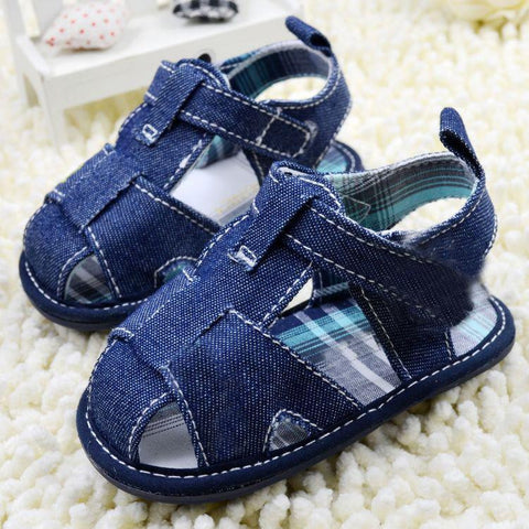 2016 Newborn Baby Jean Shoes Boy Girl Kid Sandal Infant Cozy Soft Toddler Shoes Summer -  - Houzz of Threadz - 1