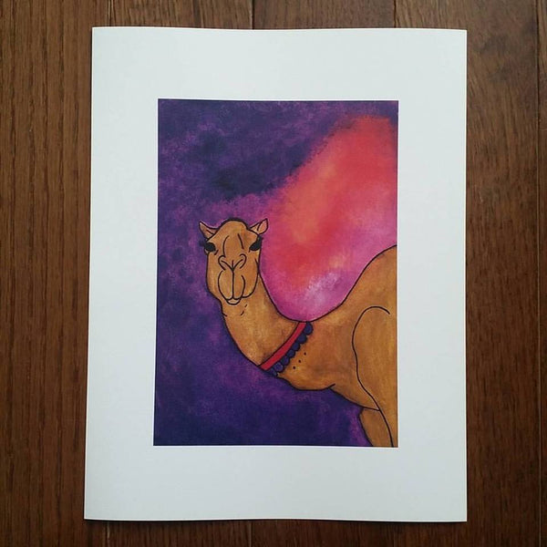 Camel Art Print (Limited Edition)