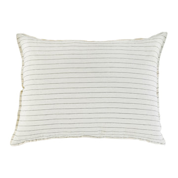 BLAKE BIG PILLOW WITH INSERT CREAM/GREY