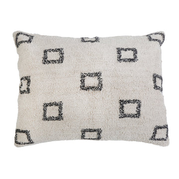 "BOWIE HAND WOVEN PILLOW 28"" x 36"" with insert"