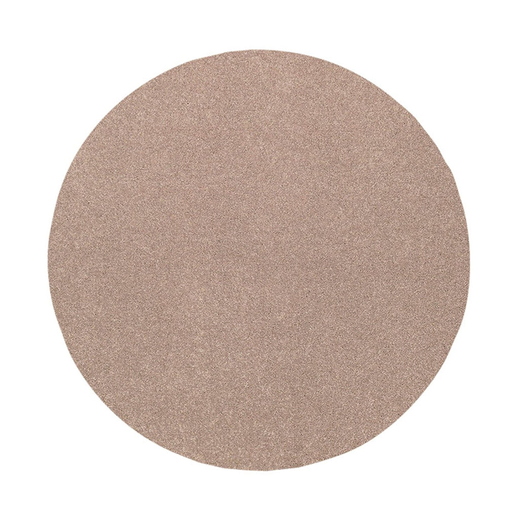 Bright House Solid Color Beige 3' Round - Area Rug