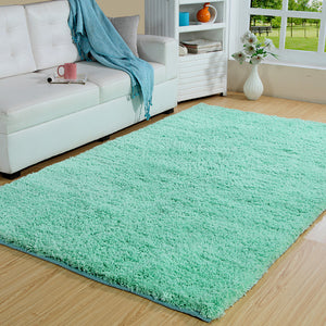 Maple Home Polypropylene Handwoven Shag Area Rug
