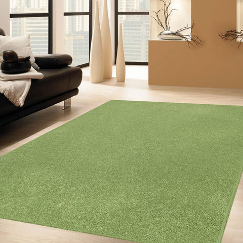 Solid Color Area Rug octagon-Lime Green