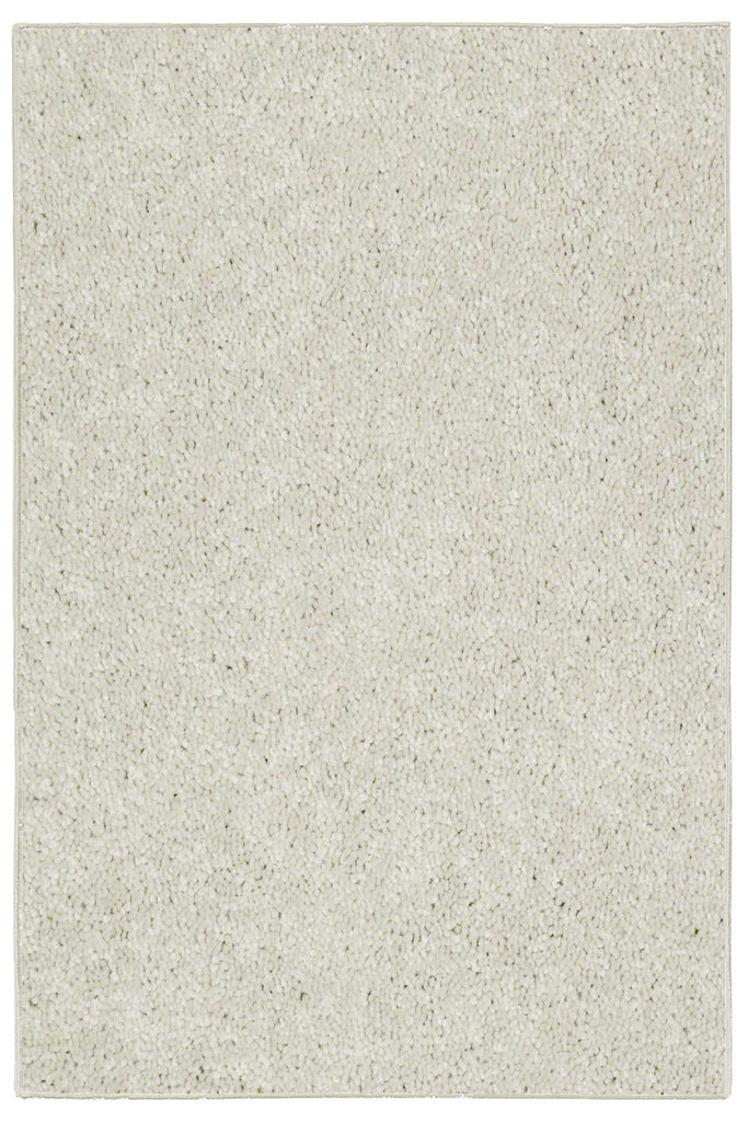 Solid Color Area Rug -Off White