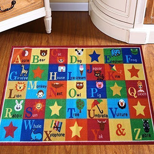 Children Abc Anti Skid Area Rug