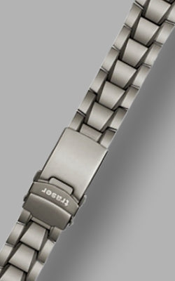 Traser Solid Link TITANIUM Watch Bracelet 22 mm