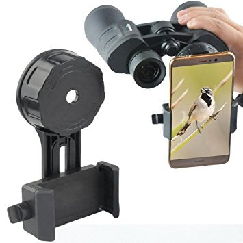 Quick Connect Binocular Phone Adapter - Smaller Digiscoping Adapter