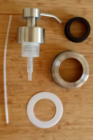 Foaming soap pump kit - BYO mason jar
