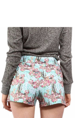 The ALONE ON THE RANGE High Waisted Shorts
