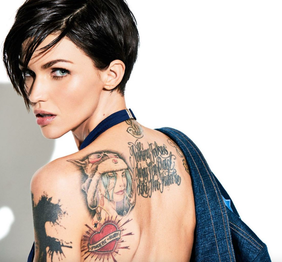 RUBY ROSE COSMO PHOTOSHOOT