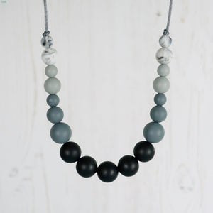 Polka: Dance With Me Teething Necklace - Pebbles and Lace