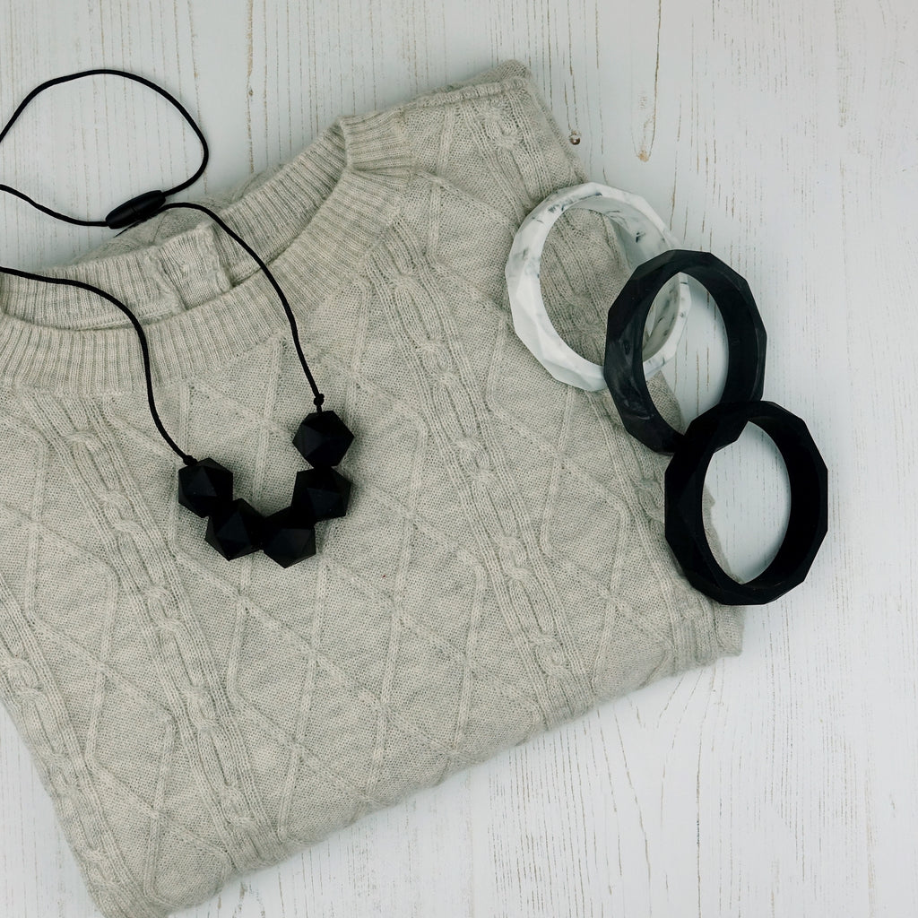 Ursa: Five Stars Teething Necklace