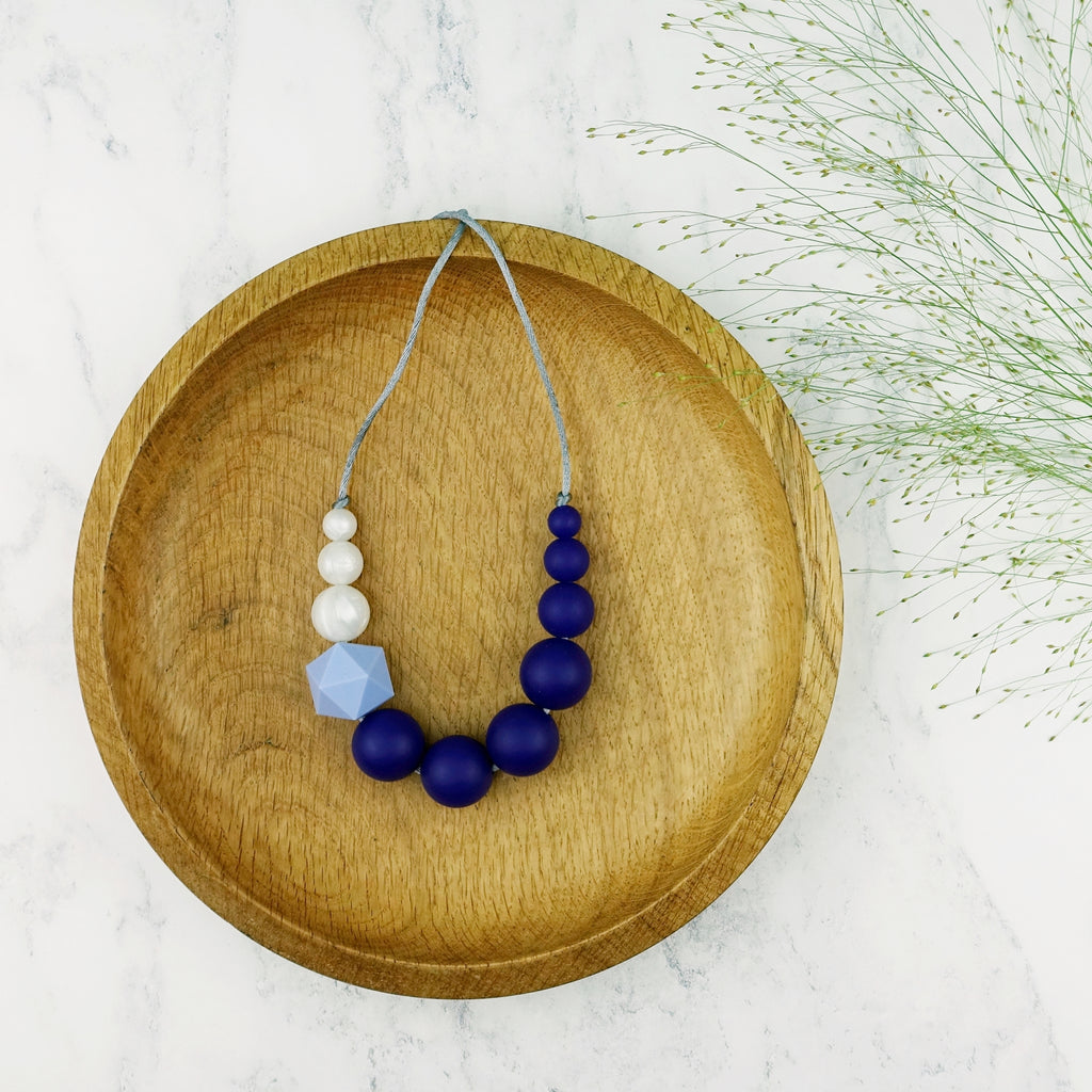 Bunting: Sky High Teething Necklace
