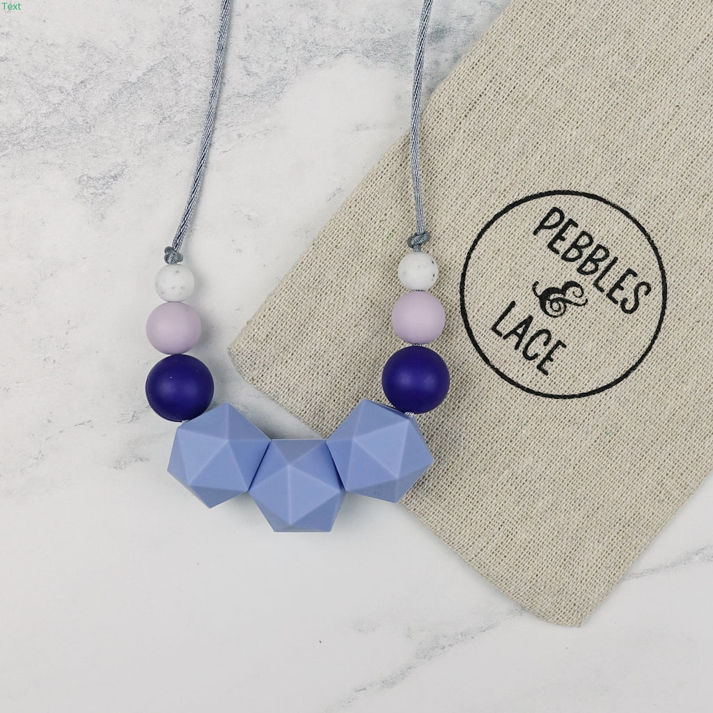 Garnet: Stellar Teething Necklace