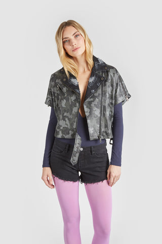 The Mondo Moto Jacket - Camo