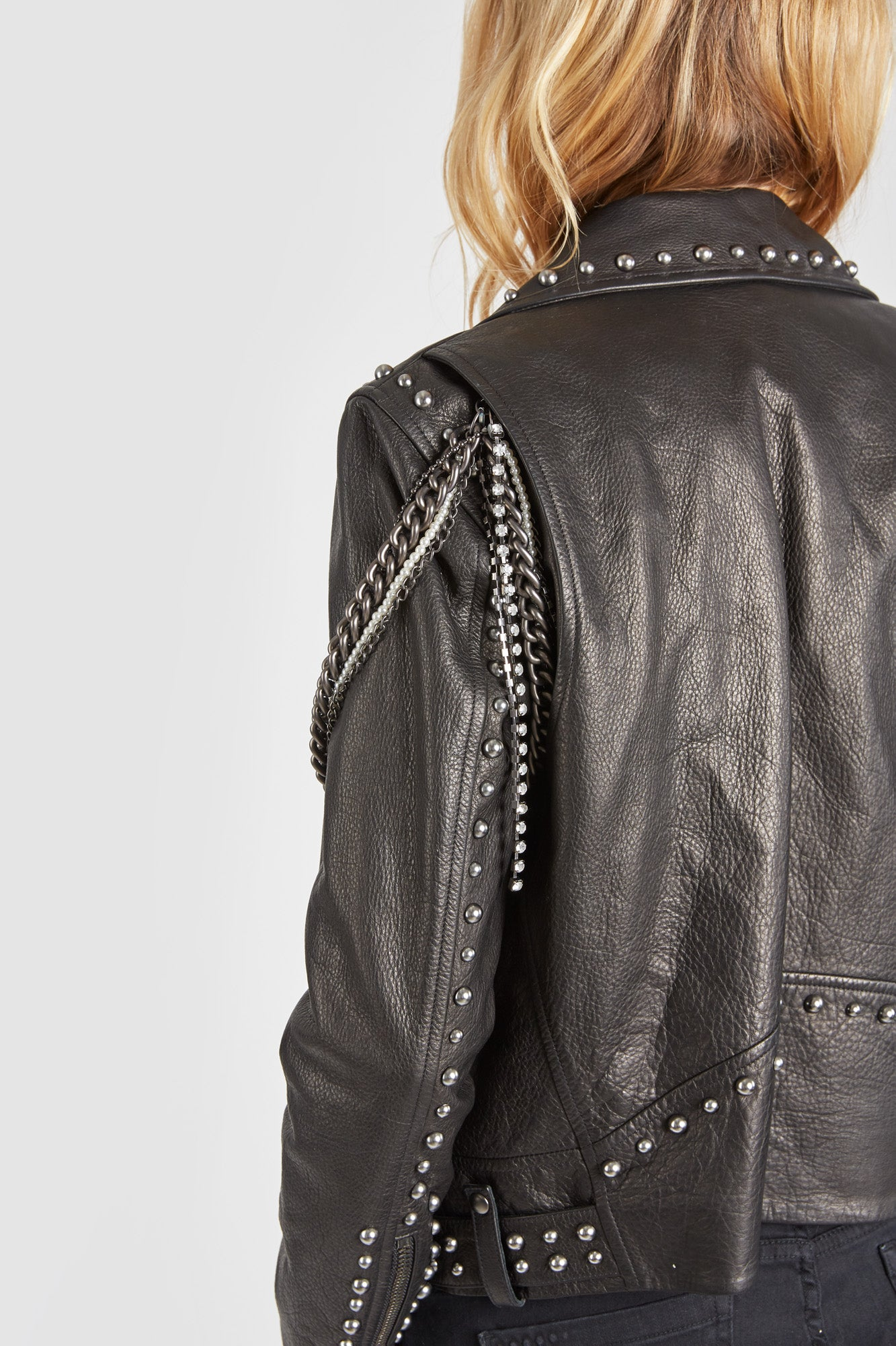 The Gnarly Moto Jacket - Black