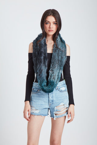 The Apollo Scarf - Atlantic Deep Ombre