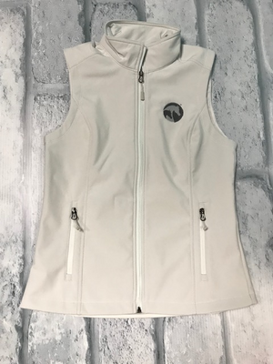 AHA Ladies Marshmallow Grey Soft Shell Vest