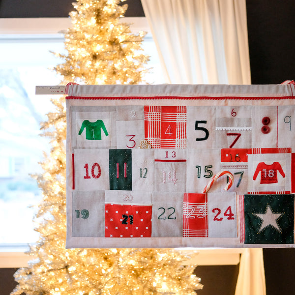 Fancy Advent Calendar Tutorial
