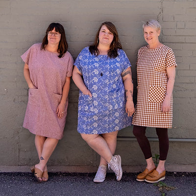 A Trio of Short Wiksten Shift Dresses