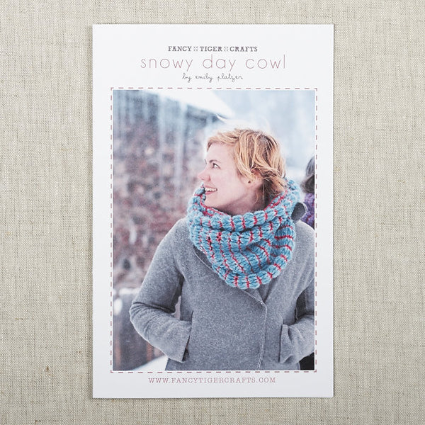 Snowy Day Cowl Pattern