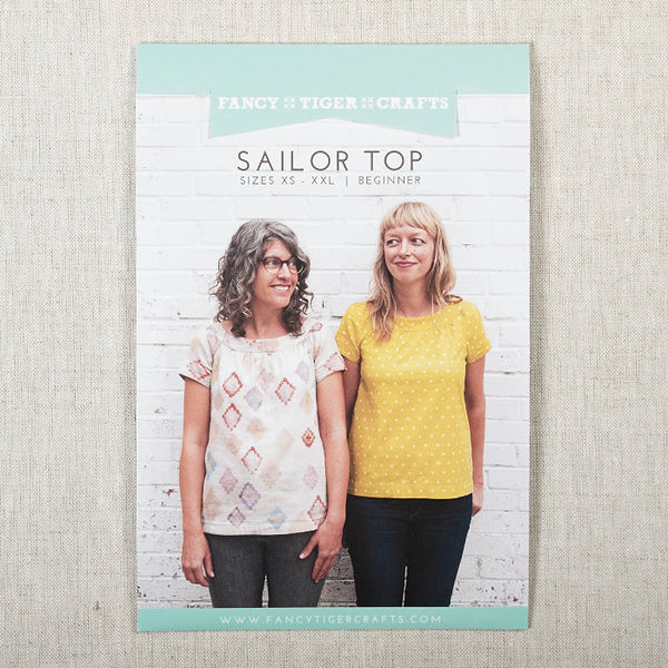 Sailor Top Printed Pattern