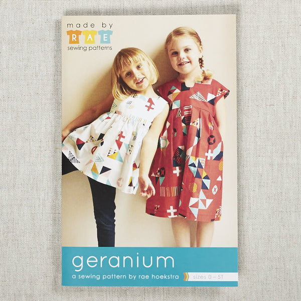 Geranium Dress & Top (0-5T)