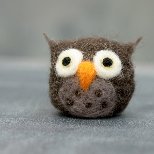 Needlefelting 101: Owl