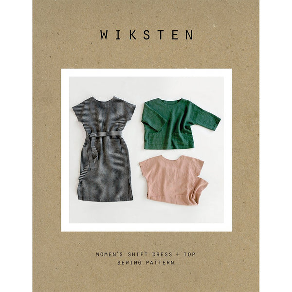 Wiksten Shift Dress + Top Pattern