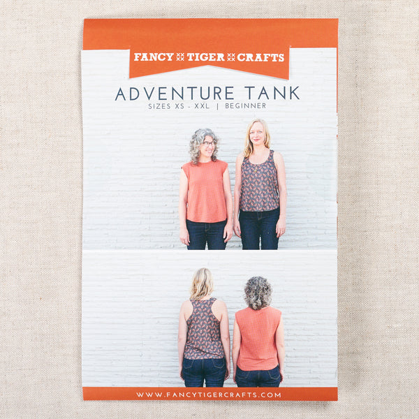 Adventure Tank Printed Pattern