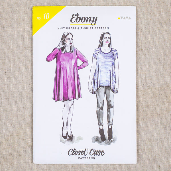 Ebony Knit Dress & T-Shirt