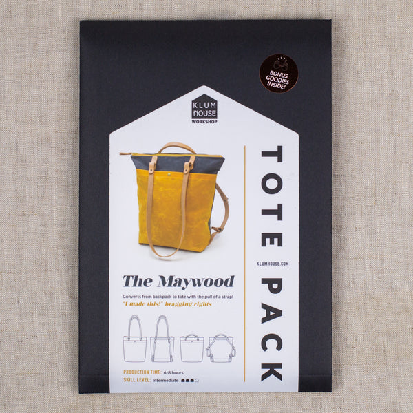 Maywood Totepack Pattern