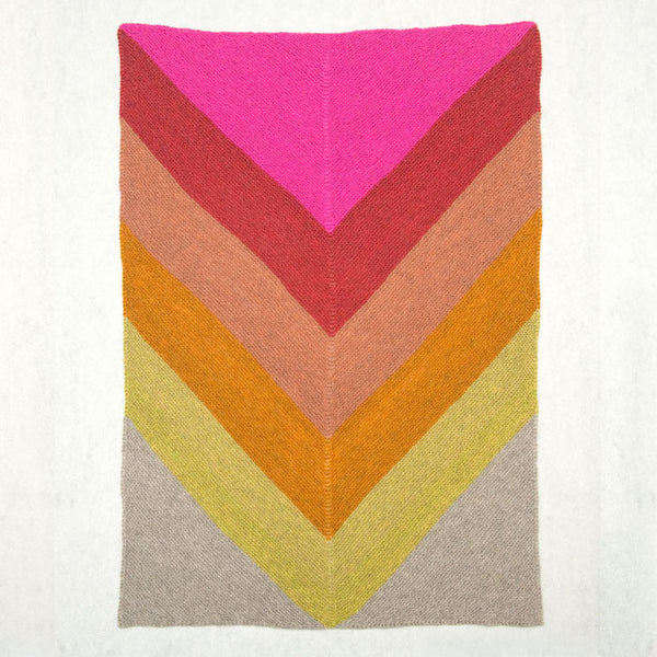 Heirloom Chevron Throw FREE Pattern