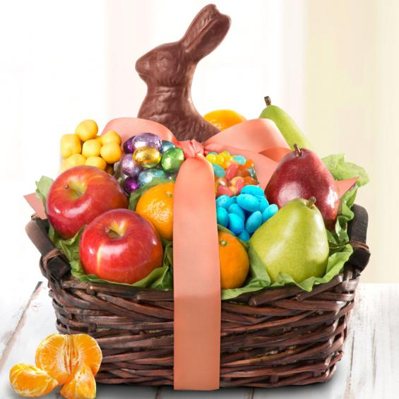 Chocolate Easter Bunny and Fruit Treats - CFG4050E