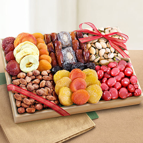 Santa Cruz Extravagance Dried Fruits and Nuts Tray - CFG8018