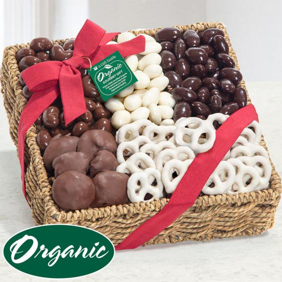 Organic Shades of Sweet Gift Basket - OFG4011
