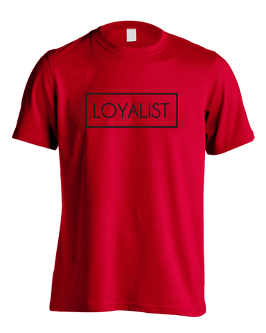 "Loyalist ""Royal Red"" T-Shirt"
