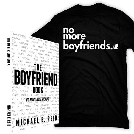 The Boyfriend Book Deluxe (includes book, shirt, and bookmark)